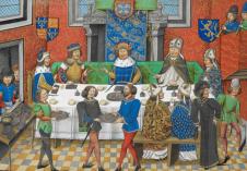 Medieval English court life