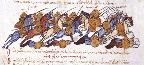 Byzantine Cataphracts in Nikephoros II's conquest of Cilicia