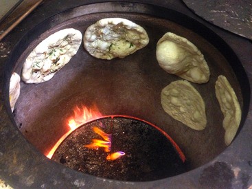 Traditional Indian bread oven