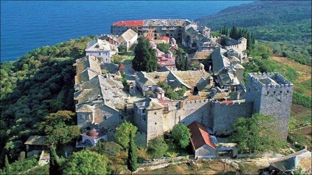 Mt. Athos monastery community, Greek Macedonia