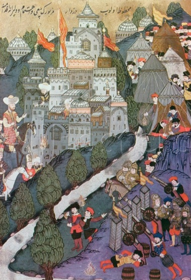 1394, Bayezid I's siege of Constantinople