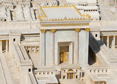 2nd Temple Jerusalem model