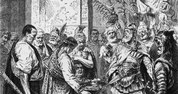 The last Western Roman emperor Romulus Augustus surrendered to Odoacer and his Herul army