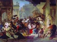 Vandals capture Rome and the Menorah, 455