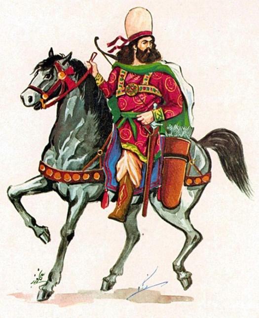 Sassanid Persian commander