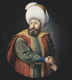 Osman I (r. 1299-1324), founder of the Ottoman Empire in 1299