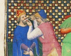 Justinian II's nose mutilation, 695
