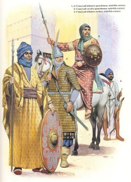 Arab soldiers of the Umayyad Caliphate