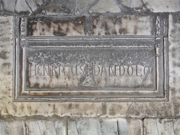 Tomb of Enrico Dandolo in the Hagia Sophia