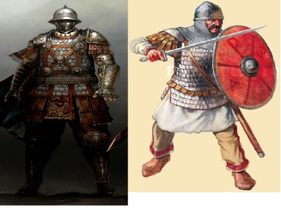 4th Crusade Byzantine soldiers