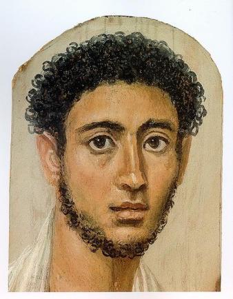 Roman portrait of an Egyptian man