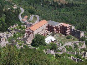 Mistras, capital of Byzantine Morea