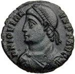 Non-dynastic Emperor Jovian (r. 363-64)
