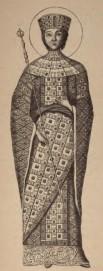 Empress Fabia Eudokia, 1st wife of Heraclius