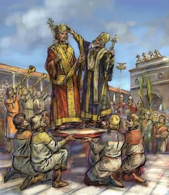 Coronation of Heraclius, 610