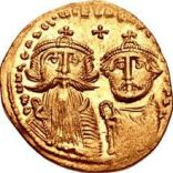Coin of Heraclius and Constantine III
