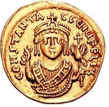 Emperor Tiberius II Constantine (r. 574-582) coin