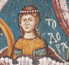 Eudokia Angelina, daughter of Alexios III and wife of Alexios V