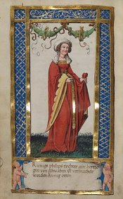 Anna of Hohenstaufen, daughter of Holy Roman Emperor Frederick II and wife of John III