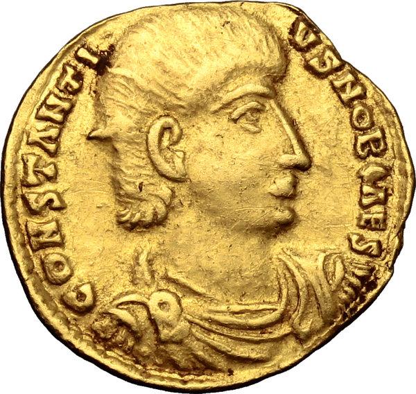 Coin of Gallus Caesar, Julian's brother