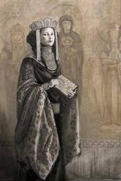 Anna Komnene (1083-1153), historian and daughter of Alexios I