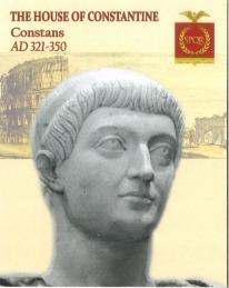 Constans I (r. 337-350), son of Constantine I