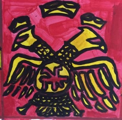 Byzantine double-headed eagle (Palaiologos family emblem)