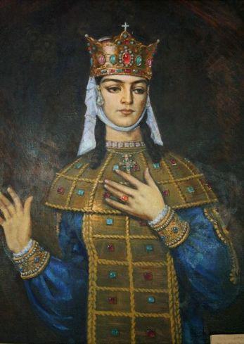 Queen Tamar of Georgia (r. 1184-1213)