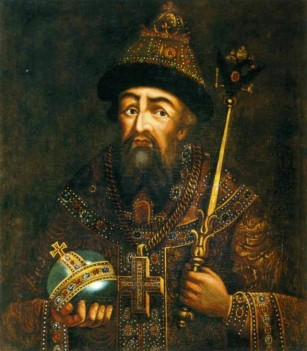 Grand Prince Ivan IV the Terrible of Moscow (1533-1547) and 1st Russian Tsar (1547-1584)