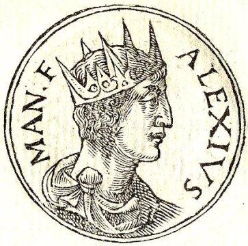 Alexios II Komnenos (r. 1180-1183), son of Manuel I and Maria of Antioch