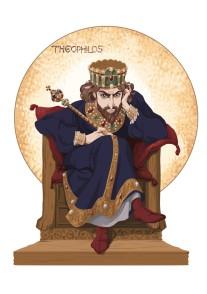 Emperor Theophilos (r. 829-842), son of Michael II
