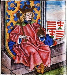 King Bela IV of Hungary (r. 1235-1270), rebuilder of Hungary from the Mongol invasions