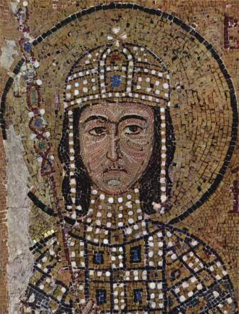 Co-emperor Alexios (r. 1122-1142), son of John II and Irene of Hungary