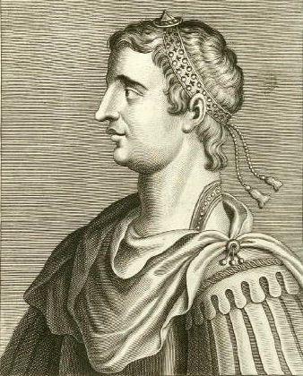 Emperor Gratian, son of Valentinian I (r. 375-383)