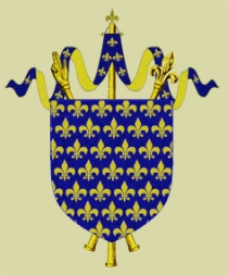 Coat of Arms of the House of Capet, France