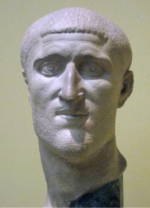 Constantius I Chlorus, father of Constantine the Great