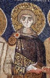 Emperor Constantine IV (r. 668-685), son of Constans II
