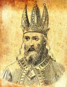 """Emperor Michael II the Amorian (r. 820-829), known as """"the Stammerer"""""""
