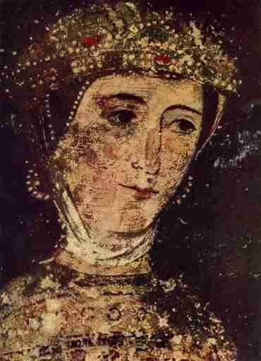 Irene Asenina, wife of John VI Kantakouzenos