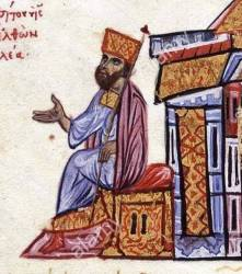 Emperor Romanos III Argyros (r. 1028-1034), 1st husband of Zoe, former Byzantine senator
