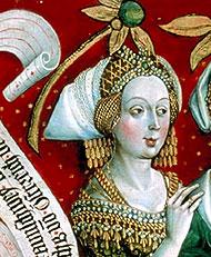 Sophia Laskarina, wife of Frederick II and daughter of Theodore I