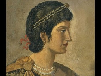 Empress Pulcheria, sister of Theodosius II and wife of Marcian
