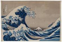 """Original """"Great Wave off Kanagawa"""""""