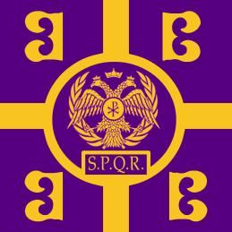 Roman-Byzantine crossover flag