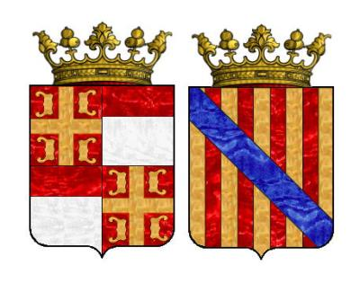 Coat of Arms of the Palaiologos Montferrat branch