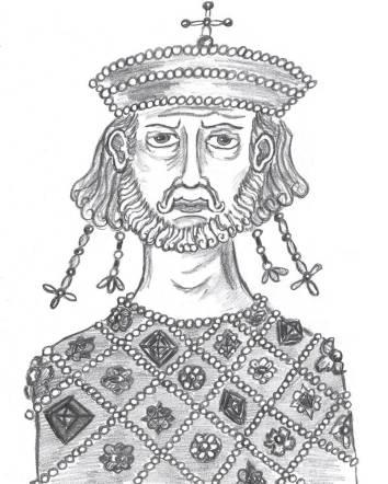 Leo IV the Khazar (r. 775-780), son of Constantine V and the Khazar Tzitzak