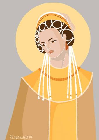 Empress Martina, 2nd wife of Heraclius