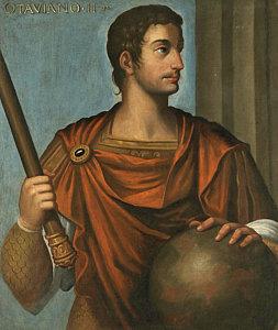 Augustus Caesar (Octavian) first emperor of the Roman Empire (r. 27BC-14AD)