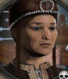 Theodora of Khazaria, 2nd wife of Justinian II