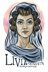 Livia Augusta, wife of Augustus and first Roman empress